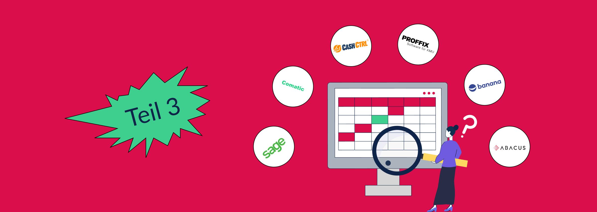 Teil 3 - Schweizer Buchhaltungssoftware im Test