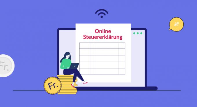 Online-Steuererklärung - Kantonaler Vergleich